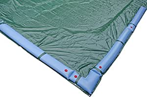 Siglo productos cnt-igresu2–1636invierno cubierta rectangular en piscina sobre suelo, 12años, 18'Por 36', verde