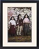 Framed Print Of 3 Fatima Visionaries