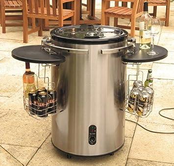 Garden Drinks Cooler  Stainless Steel, Outdoor, Electric Drinks