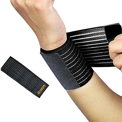 Bandage de Maintien Poignet Cheville Compression Sangle Strapping Extensible