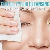JJ CARE Eyelid Wipes [Box of 160] Eye Wipes, Eyelid