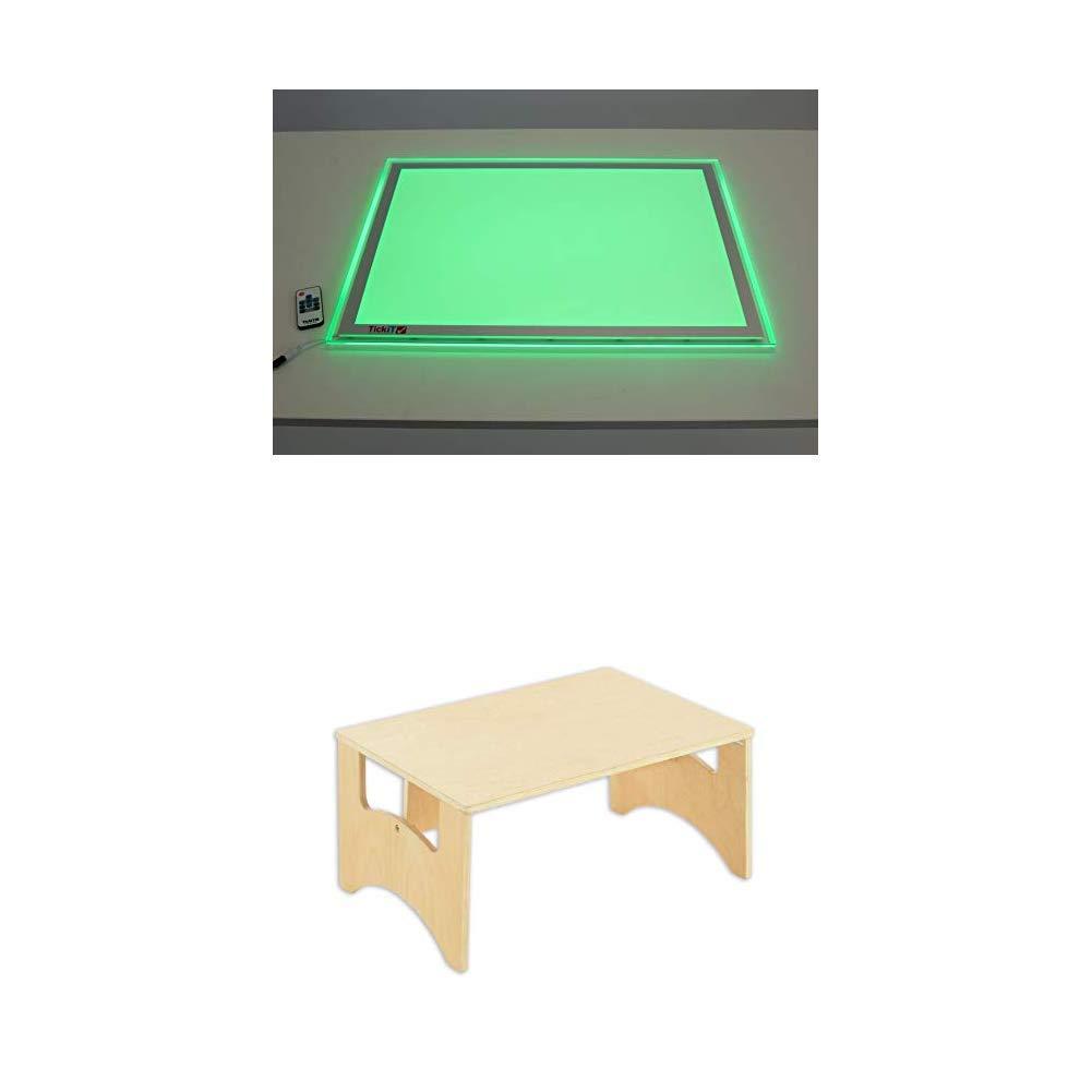TickiT 73018 Panel de luz de tamaño A2 con cambio de color