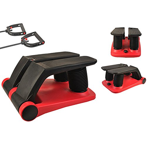 INTBUYING Air Stepper Climber Fitness Machine Resistant Cord Air Step Aerobics Machine with CD Exercise Slimming Machine #300002