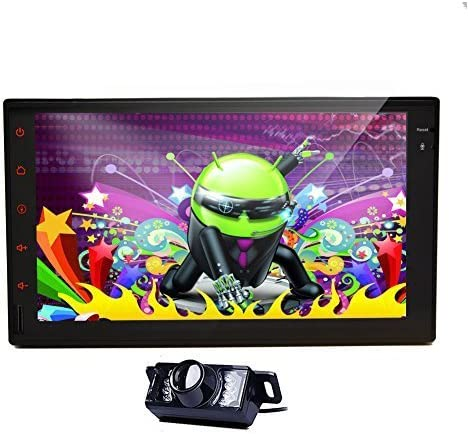 Car Autoradio 2DIN Stereo Headunit In Dash Deck android 6.0 OS 7