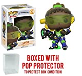 Funko Pop! Games: Overwatch - Lucio Vinyl Figure (Bundled with Pop BOX PROTECTOR CASE)