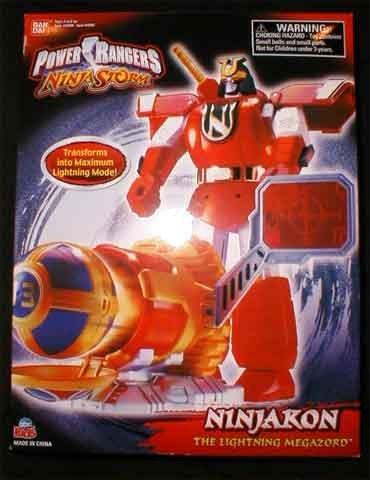 Amazon Power Rangers Ninja Storm Ninjakon The Lightning