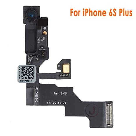 premium selection 9e7a9 f779e Johncase New OEM 5MP Front Facing Camera Module w/Proximity Sensor +  Microphone Flex Cable Replacement Part Compatible for iPhone 6s Plus (All  ...