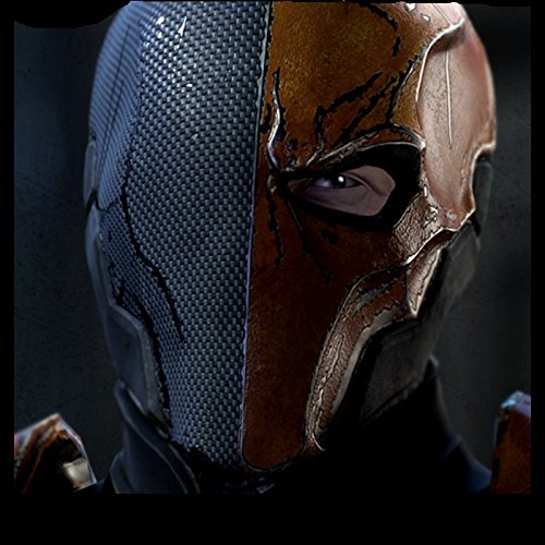 Amazon.com: xcoser coser Mens Deluxe Deathstroke Mask Helmet New Version DIY V4.2: Beauty