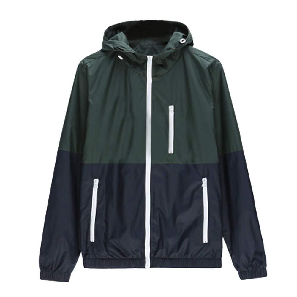 BingYELH 2019 Men Fashion Winter Jacket,Mens Casual Jacket Outdoor Sportswear Windbreaker Lightweight Bomber Jackets