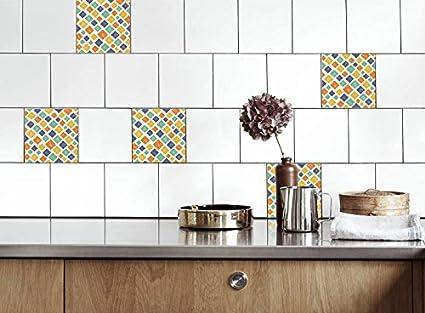 Adesivi per Piastrelle Cucina mozaik Dimensioni della Pellicola del ...