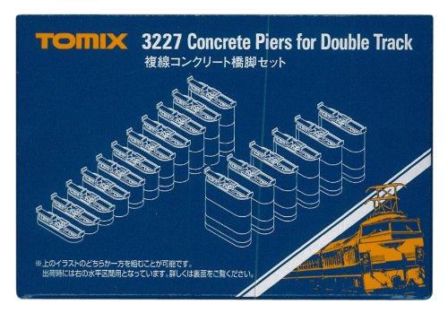 TOMIX Nゲージ 複線コンクリート橋脚セット 3227 鉄道模型用品