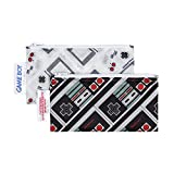 Bumkins Nintendo 2 Piece Reusable Snack Bag, Gameboy/Controller, Small