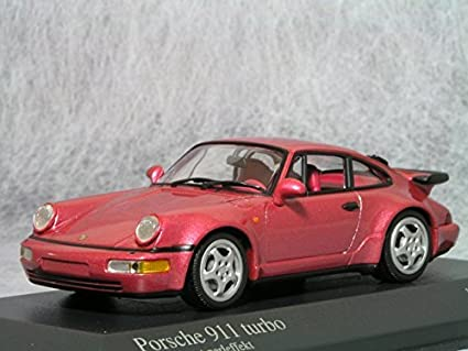 Minichamps 1/43 Porsche 911 (964) 1990 Turbo Porsche (Red.M