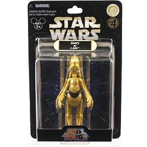 Disney Star Tours Star Wars Weekends Goofy as C-3po Figure