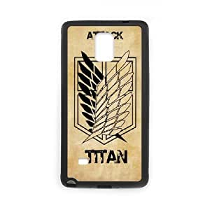 DIY Printed Attack on Titan hard plastic case skin cover For Samsung Galaxy Note 4 N9100 SN9Q962605
