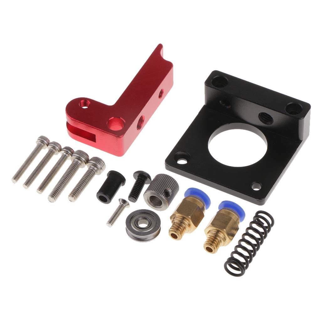 Homyl Mk8 Tout en Mé tal 1.75mm Kit D'extrudeuse pour Imprimante 3D Makerbot Reprap