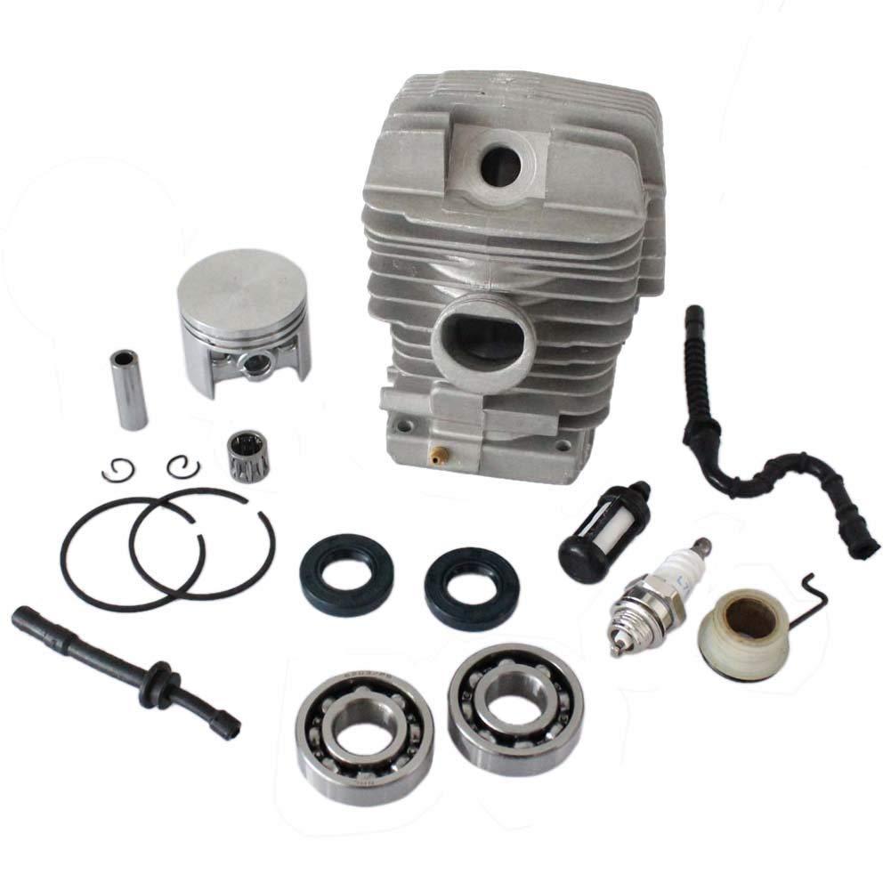 Motore per albero motore a pistone cilindrico 46 mm per motosega Stihl 029 MS290 039 MS390 Poweka