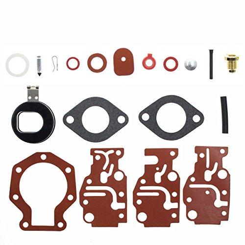 AUTOKAY Carburetor Rebuild Carb Repair Kit for Johnson Evinrude 6 8 9.9 15 20 HP 0439073 18-7219,40600
