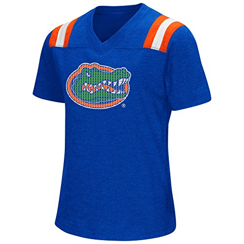 Shell Youth T-shirt (Youth Girls Colosseum Rugby University of Florida Gators T-Shirt (YTH (7-8)))