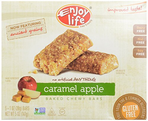 Enjoy Life, Snack Bar, Caramel Apple, Gluten Free, 1 Ounce, 5 Count by Enjoy Life Foods