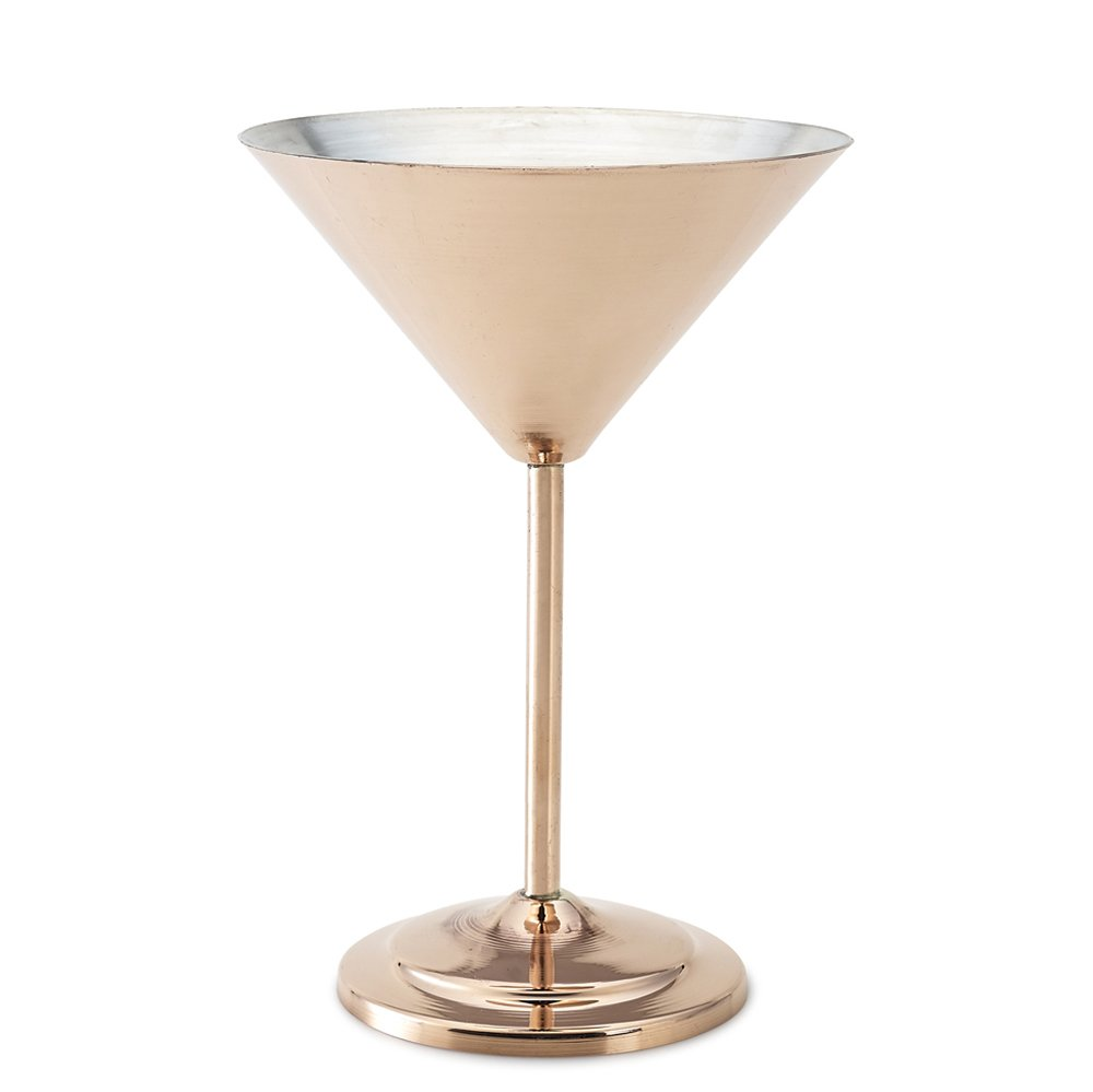 Kuprum Copper Tinned Martini Glass, 10 oz K5000/20