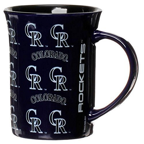 The Memory Company MLB Colorado Rockies Official Line Up Mug, Multicolor, One Size by The Memory Company
