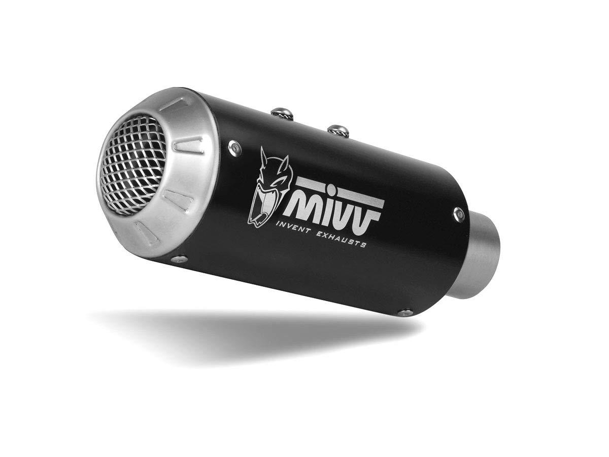 Tubo de Escape Completo 2 x 1 MIVV MK3 Inoxidable Negro ...