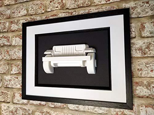 Jeep Wrangler YJ Skulptor 3D gedruckt dekor