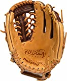 Nokona Youth Alpha Select S-200 Baseball Modified Trap Glove, For Right Handed Throwers