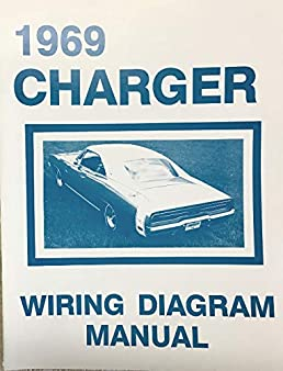 1969 dodge charger factory electrical wiring diagrams \u0026 schematics 1968 Camaro Convertible Wiring Diagram