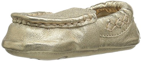 UGG Kids I Sivia Metallic Slip-on,Gold,3 M US Infant