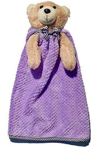 Stuffed Animal Baby Blanket Snuggler Lovey with Removable Washable Ultra Soft Blankie - 14
