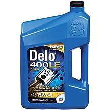 Delo 38623-CASE 400 LE SAE 15W-40 Motor Oil - 1 Gallon Jug, (Pack of 3) by Delo