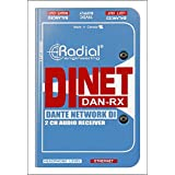 Radial Engineering DiNET DAN-RX 2-Channel Dante Audio Receiver