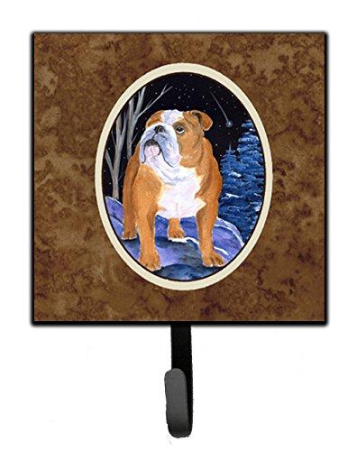 (Caroline's Treasures SS8405SH4 Starry Night English Bulldog Leash Holder or Key Hook, 7Hx4.25W,)