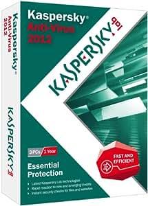 Kaspersky Anti-Virus 2012 - 3 Users