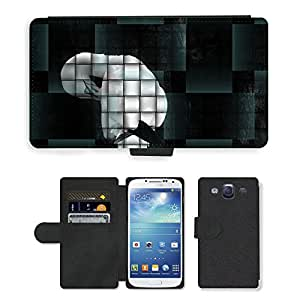 Hot Style Cell Phone Card Slot PU Leather Wallet Case // M00115418 Graphic Art Abstract Braid Image // Samsung Galaxy S3 S III SIII i9300