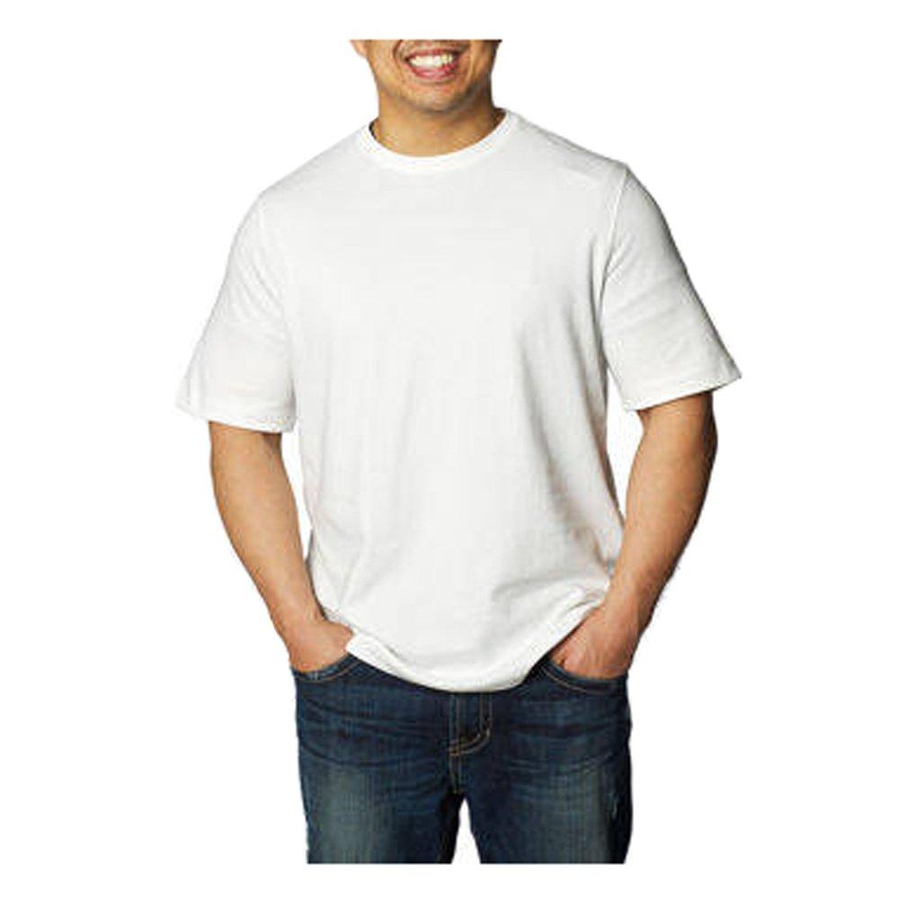 d7bd95e50ffe Amazon.com: Kirkland Men's Crew Neck T-Shirts 100% Cotton (Pack of 6):  Clothing