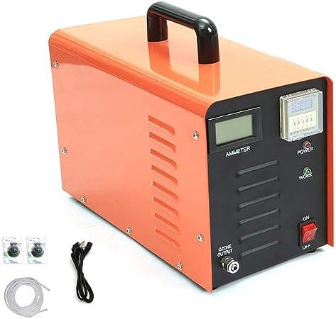 Generador de ozono Industrial 10000 MG/h Purificador de Aire O3 de Alta Capacidad Desodorizador y esterilizador Filtro de Aire de Servicio Pesado para el hogar, el Hospital y la fábrica,Naranja: Amazon.es: Hogar