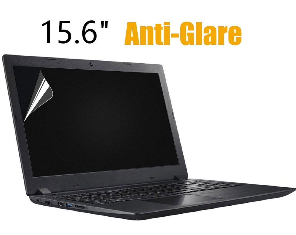 Anti-glare Anti-Scratch Screen Protector Cover Skin for 15.6 inch Toshiba Lenovo HP ASUS DELL Acer LG 15.6'' Laptop Computer, Display 16:9