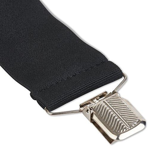 Wolverine Solid Straight Clip Suspenders