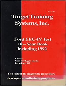 Ford Eec-iv Test 10 - Year Book Including 1992 - Covers Cars