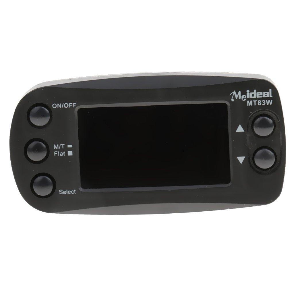 Pro 2en1 Clipon Metrónomo LCD Sintonizador para Guitarra Violín Tecla C Instrumento Mt83w: Amazon.es: Instrumentos musicales