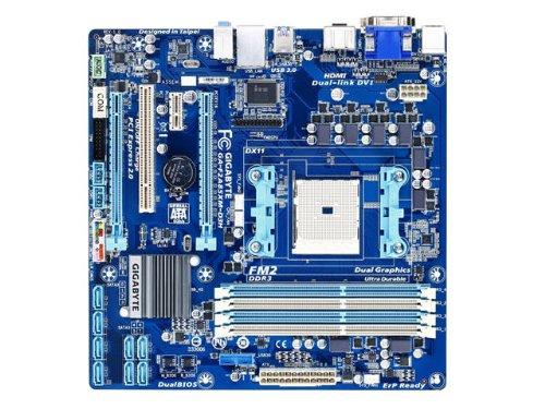 Gigabyte GA-F2A85XM-D3H AMD Socket FM2 A85X (Hudson D4) HDMI SATA 6Gb/s USB 3.0 Micro ATX Motherboard