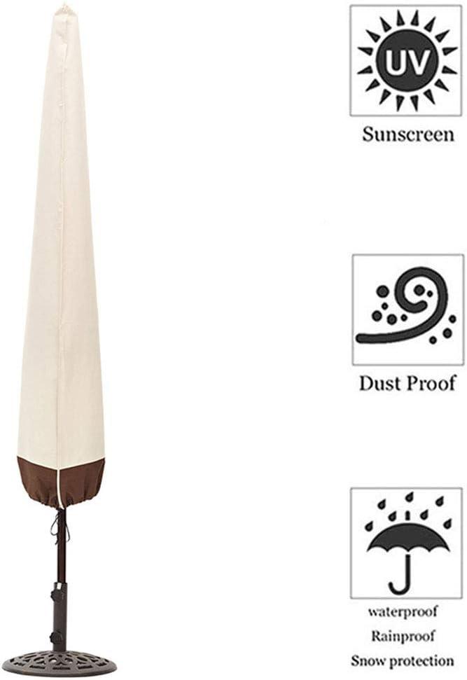 Fodera Protettiva per Ombrellone Oxford 210D Copriombrellone Protezione della Neve Impermeabile Resistente allo Strappo Copertura per Ombrellone HYCZW Coperture per Ombrelloni da Giardino