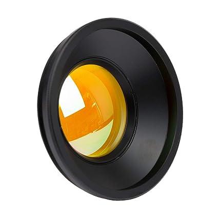 Amazon com: Cloudray CO2 F-Theta Scan Lens Field 50x50mm FL 75mm Dia