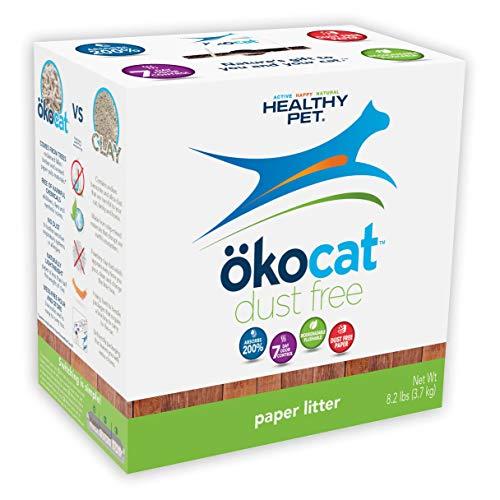 (ökocat Natural Paper Cat Litter, 8.2-Pound, Dust Free)