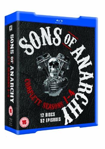 Sons of Anarchy - Season 1 - 2 - 3 - 4 Complete Box Set [Blu-ray]