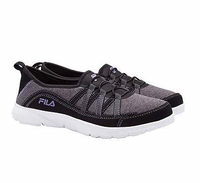 18e2fc481756 Fila Womens Pilota Memory Foam Breathable Slip On Shoe Sneaker (6