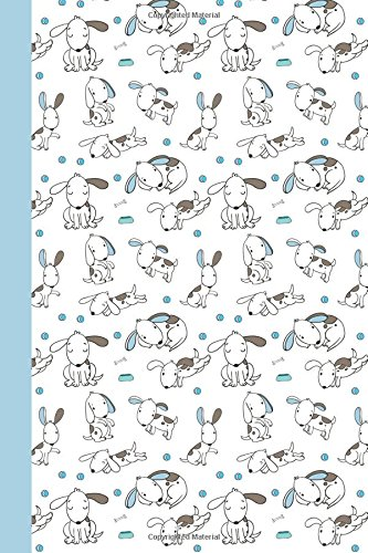 Journal: Puppy Life (White and Blue) 6x9 - DOT JOURNAL - Journal with dot grid paper - dotted pages with light grey dots (Dogs & Puppies Dot Journal Series) ebook